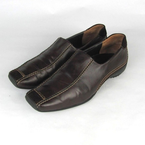 3930dea3125 PAUL GREEN Munchen Brown Leather Loafers us 9.5. M 5b84ca099539f7d97281171f